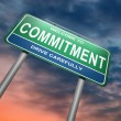 Commitment concept. — Stock Photo #11953501