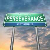 Perseverance concept. — Stock Photo