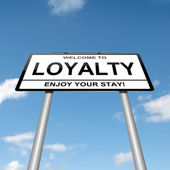 Loyalty concept. — Stock Photo