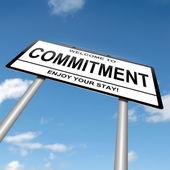 Commitment concept. — Stock Photo