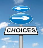 Choices concept. — Stock Photo