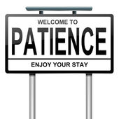 Patience concept. — Stock Photo