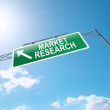 Market research concept. — Stock Photo