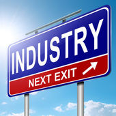 Industry concept. — Stock Photo