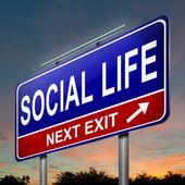 Social life concept. — Stock Photo