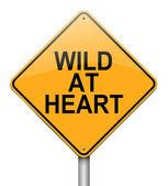 Wild at heart. — Stock Photo