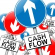Stock Photo: Cash flow concept.