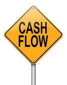 Cash flow concept. — Stock Photo