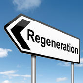 Regeneration concept. — Stock Photo