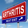 Arthritis concept. — Stock Photo