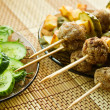 Closeup meatballs kebab — Foto Stock #11714628
