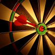 Arrows and darts target — Stock Photo #12213928