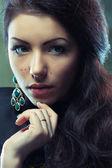 Beautiful young woman — Foto de Stock