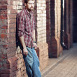 Young man waiting for someone — Stock Photo #11907111