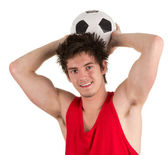 Footballer — Stock Photo
