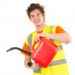 Fuel can guy — Stock Photo