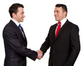 Two businessman — Stock Photo