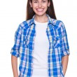 Young woman with bright smile — Stock Photo #11631053