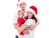 Familia de navidad — Foto de Stock