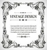 Vintage styl design — Stock vektor