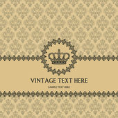Vintage background for invitations — Cтоковый вектор