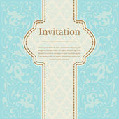 Vintage background for invitations — Stock Vector