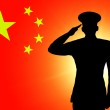The Chinese flag — Stock Photo #11050786