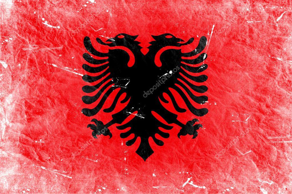 Albania Flag Cake