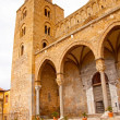 The Cathedral-Basilica of Cefalu. - Stock Photo