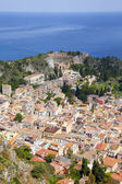 Taormina in Sicily — Stock Photo