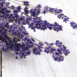 Bundle of dried lavender — Stock Photo