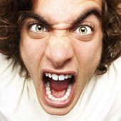 Bağıran adam — Stok fotoğraf