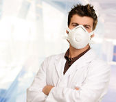 Portrait Of A Male Doctor — Stock Photo