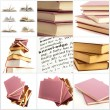 Set Of Different Book Pages - Stock Photo