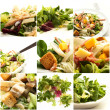 Stock Photo: Series Of Veg. Salad