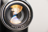 Close Up Of Camera Lens — Stock Photo