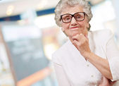Portrait of a woman disappointed — Stock Photo