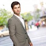 Ritratto di un uomo d'affari — Foto Stock