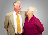 Portrait Of A Happy Senior Couple — Stock Photo