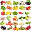 Collection of fruits and vegetables — Foto de Stock