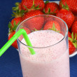Strawberry milkshake — Stock Photo #11090764