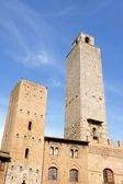 San Giminiano towers in Tuscany, Italy — Stock Photo