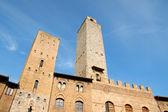 San giminiano w prowincji siena, toskania — Zdjęcie stockowe