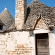 Old Trulli houses in Alberobello, Apulia - Stock Photo