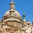 Basilica-Cathedral of Our Lady of the Pillar in Zaragoza — Stock Photo #11397158