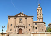 Church of San Juan de los Panetes, Zaragoza — Stock Photo