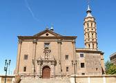 Church of San Juan de los Panetes, Zaragoza — Stock Photo
