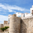 Glimpse of Peniscola, Spain — Stock Photo