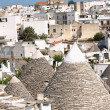 Glimpse of Alberobello, Apulia, Italy. — Stock Photo