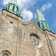 Stock Photo: Sainte Cecile Church in Montreal